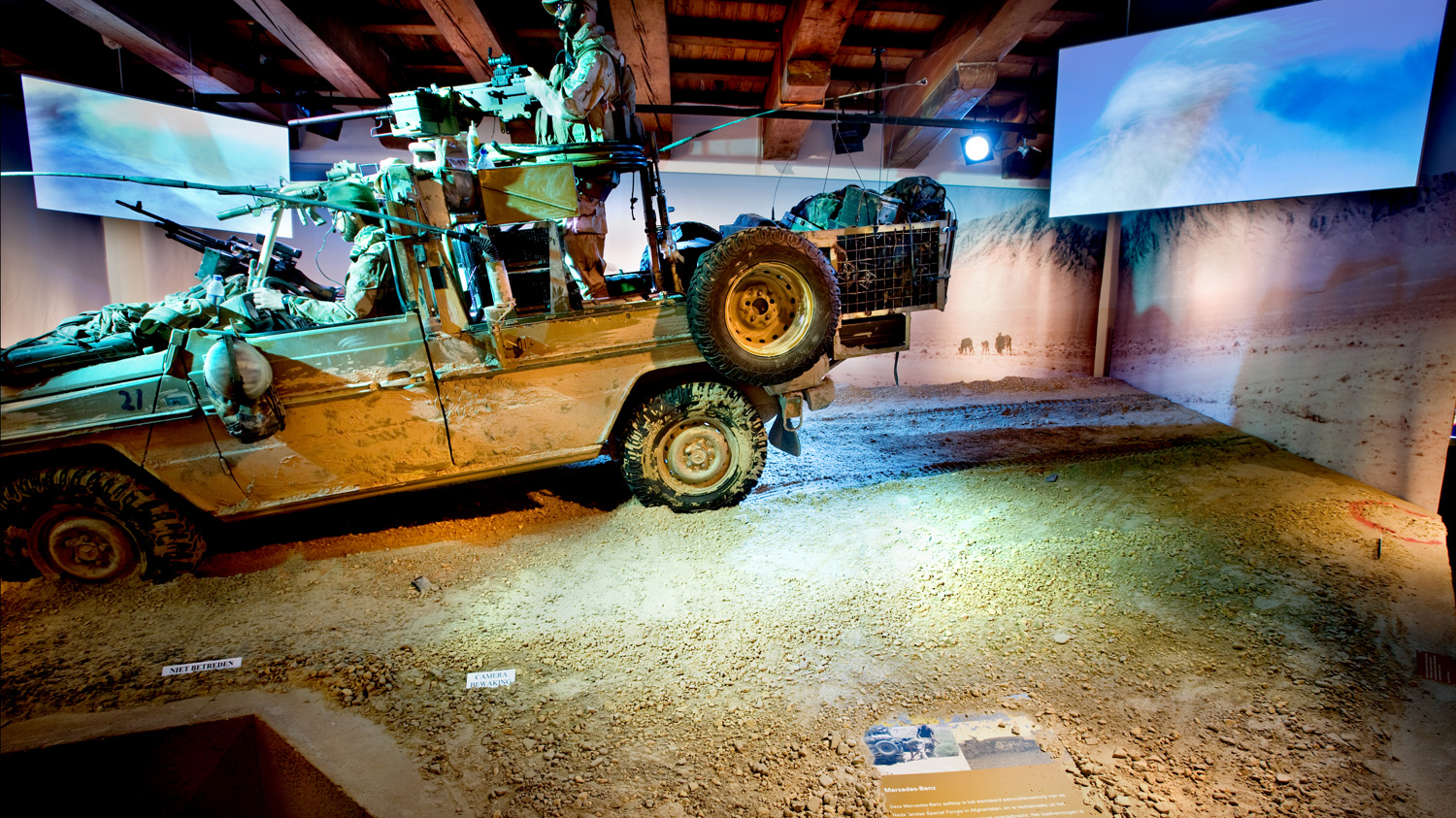 Tentoonstelling 'Special Forces'; Legermuseum, Delft