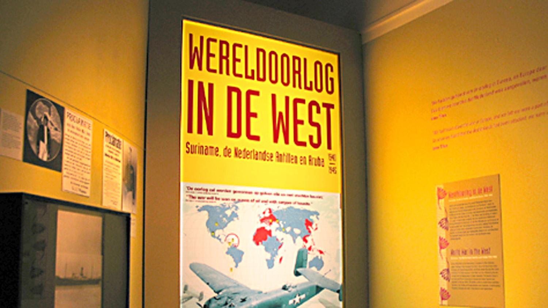 Suriname In WO2 Verzetsmuseum Amsterdam