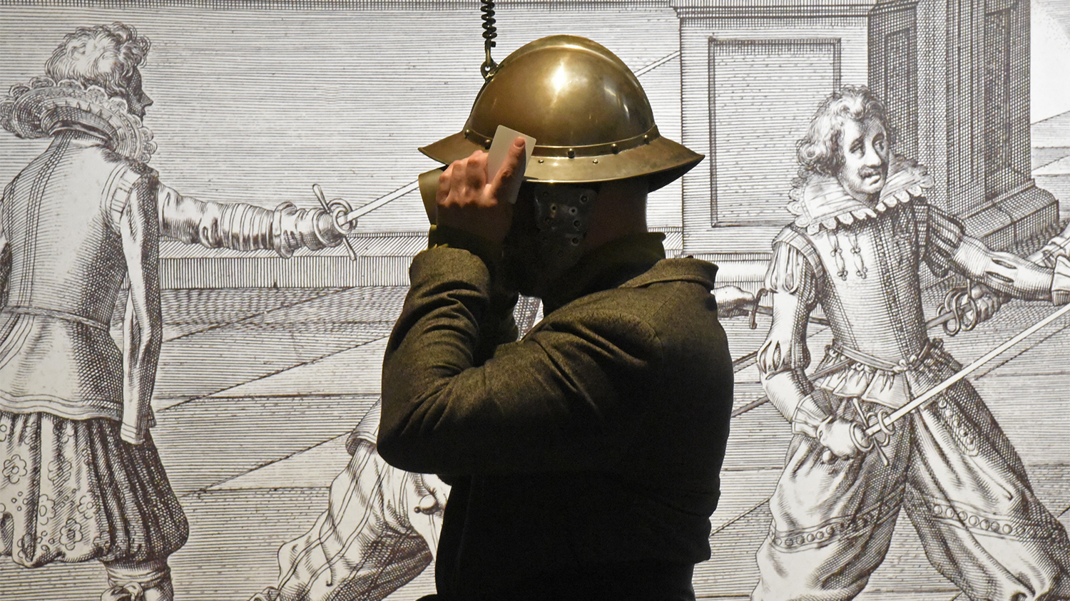 Virtual Reality Helm Tentoonstelling Willem Van Oranje
