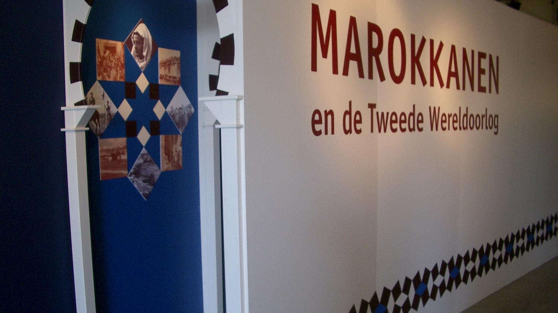 Verzetsmuseum Amsterdam, Marokko In WO2