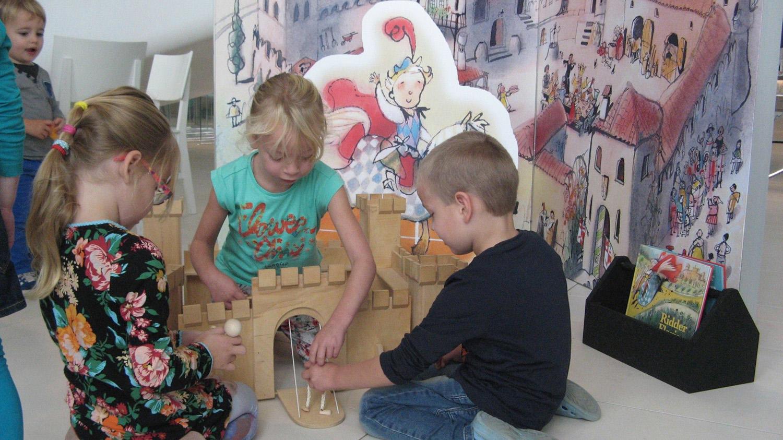 Kunstspeeltuin Prentenboekenstad Reizende Tentoonstelling