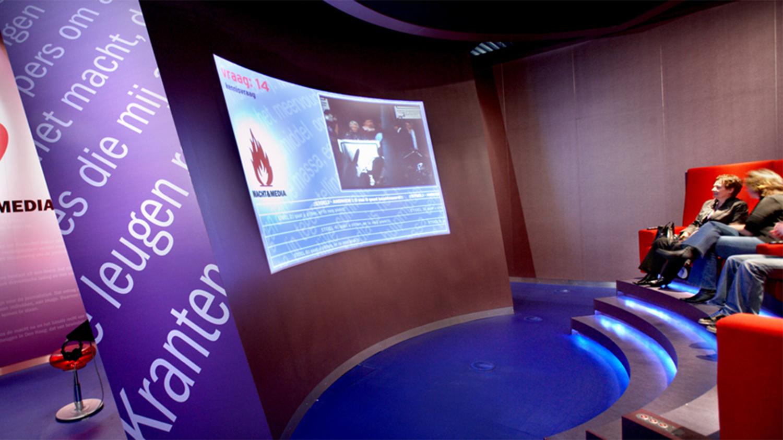 Macht & Media; Interactieve Presentatie En Tentoonstelling, Instituut Voor Beeld En Geluid, Hilversum